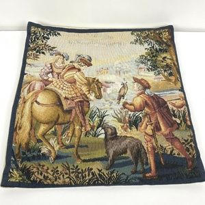 Flanders Tapestry The Falcon Pillow Cover